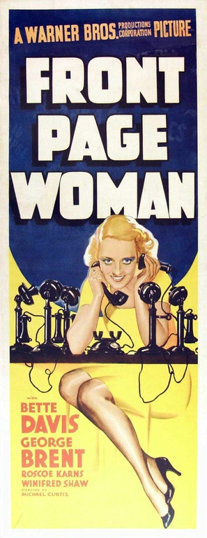 Front Page Woman - Movie Poster (thumbnail)