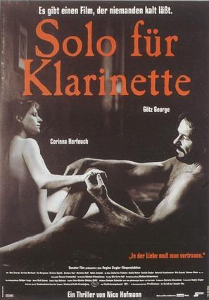 Solo für Klarinette - German Movie Poster (thumbnail)