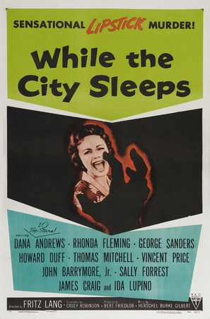 While the City Sleeps - Movie Poster (thumbnail)