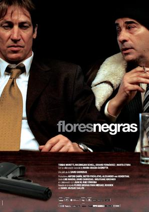 Flores negras - Spanish Movie Poster (thumbnail)