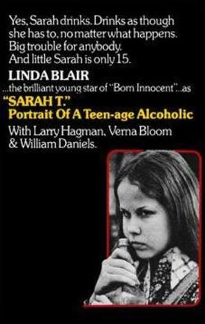 Sarah T. - Portrait of a Teenage Alcoholic - VHS movie cover (thumbnail)
