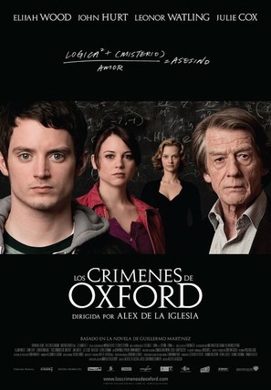 The Oxford Murders - Spanish Theatrical movie poster (thumbnail)