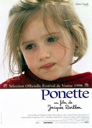 Ponette - French Movie Poster (thumbnail)