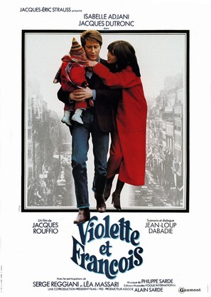 Violette & François - French Movie Poster (thumbnail)