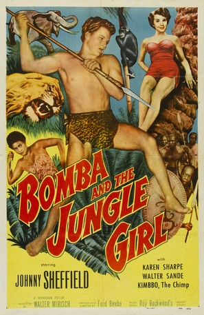 Bomba and the Jungle Girl - Movie Poster (thumbnail)