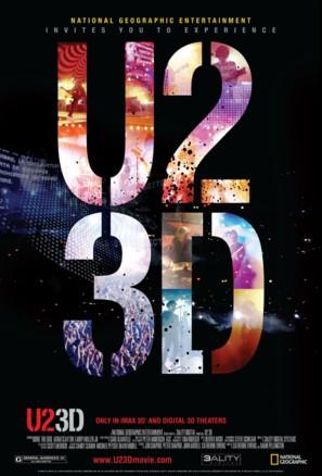 U2 3D - Movie Poster (thumbnail)