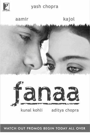 Fanaa - Indian Movie Poster (thumbnail)