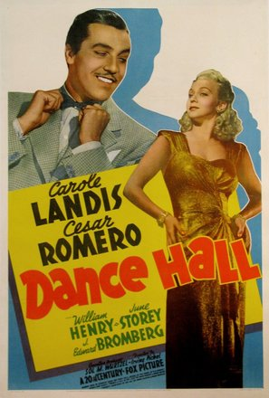 Dance Hall - Movie Poster (thumbnail)