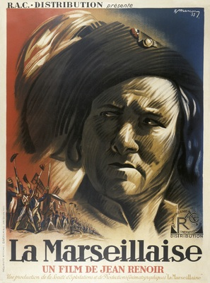 La marseillaise - French Movie Poster (thumbnail)