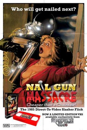 The Nail Gun Massacre - Video release movie poster (thumbnail)