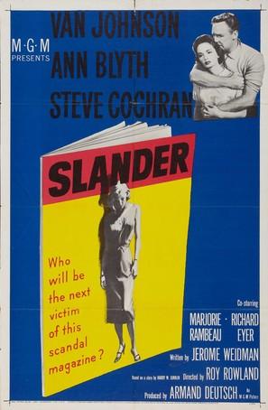 Slander - Movie Poster (thumbnail)