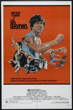 The Big Brawl - Movie Poster (thumbnail)