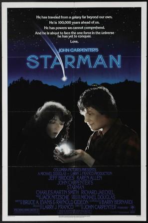 Starman - Movie Poster (thumbnail)