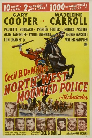 North West Mounted Police - Movie Poster (thumbnail)