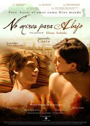 No mires para abajo - Argentinian Movie Poster (thumbnail)
