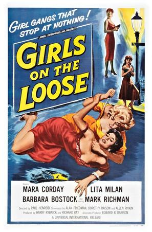 Girls on the Loose - Movie Poster (thumbnail)