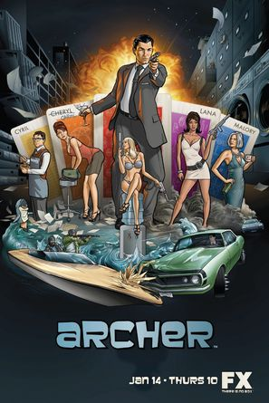 """Archer"" - Movie Poster (thumbnail)"