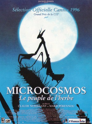 Microcosmos: Le peuple de l'herbe - French Movie Poster (thumbnail)