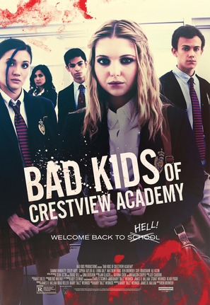 Bad Kids of Crestview Academy - Movie Poster (thumbnail)