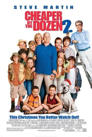 Cheaper by the Dozen 2 - Movie Poster (thumbnail)