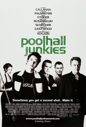 Poolhall Junkies - Advance poster (thumbnail)