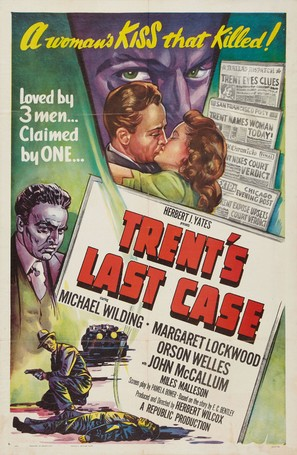 Trent's Last Case - Movie Poster (thumbnail)
