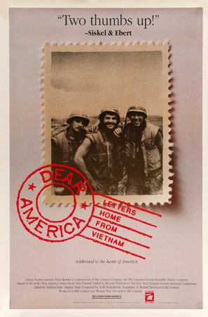 Dear America: Letters Home from Vietnam - Movie Poster (thumbnail)