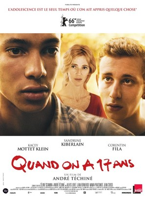 Quand on a 17 ans - French Movie Poster (thumbnail)