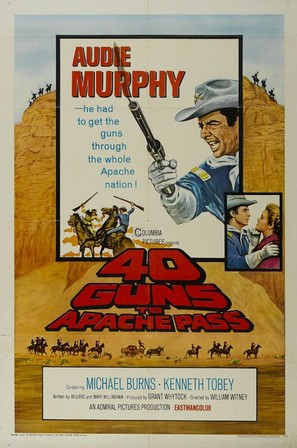 40 Guns to Apache Pass - Movie Poster (thumbnail)