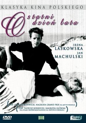 Ostatni dzien lata - Polish DVD cover (thumbnail)