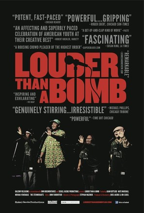 Louder Than a Bomb - Movie Poster (thumbnail)