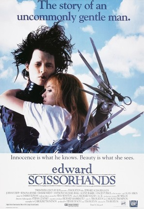 Edward Scissorhands - Movie Poster (thumbnail)
