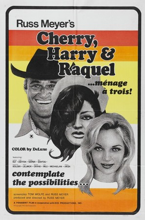Cherry, Harry & Raquel! - Movie Poster (thumbnail)