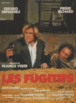Les fugitifs - French Movie Poster (thumbnail)