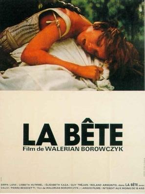 La bête - French Movie Poster (thumbnail)