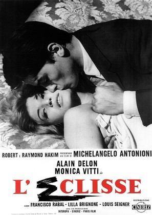 L'eclisse - Italian Movie Poster (thumbnail)