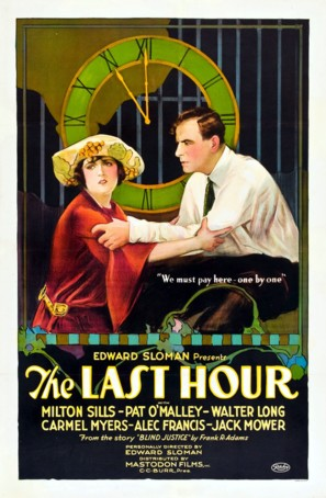 The Last Hour - Movie Poster (thumbnail)