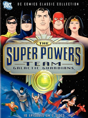 """""""The Super Powers Team: Galactic Guardians"""" - DVD movie cover (thumbnail)"""