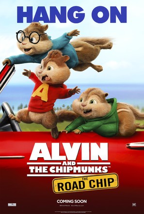 Alvin and the Chipmunks: The Road Chip - Movie Poster (thumbnail)