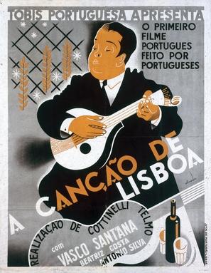 A Canção de Lisboa - Portuguese Movie Poster (thumbnail)