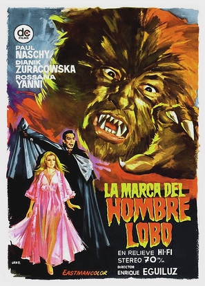 La marca del Hombre-lobo - Spanish Movie Poster (thumbnail)