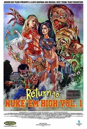 Return to Nuke 'Em High Volume 1 - Video release poster (thumbnail)
