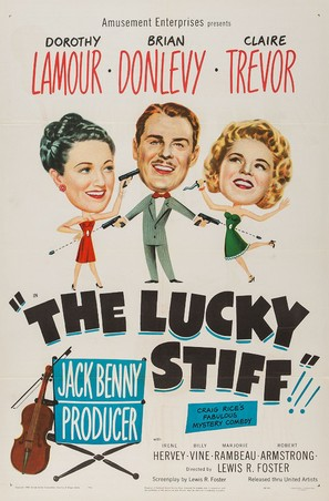 The Lucky Stiff - Movie Poster (thumbnail)