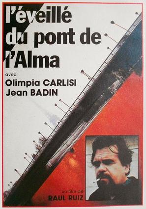 L'éveillé du pont de l'Alma - French Movie Poster (thumbnail)