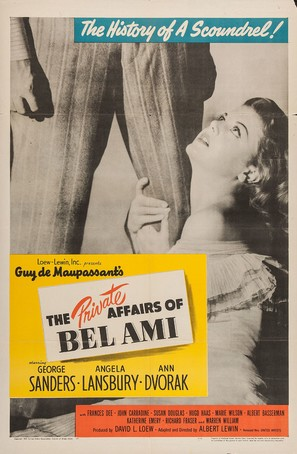 The Private Affairs of Bel Ami - Movie Poster (thumbnail)