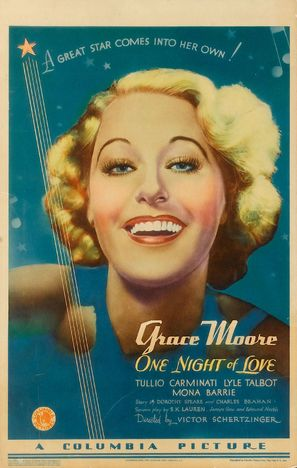 One Night of Love - Movie Poster (thumbnail)