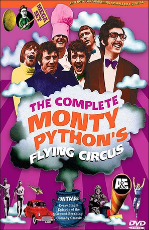 """Monty Python's Flying Circus"" - DVD movie cover (thumbnail)"