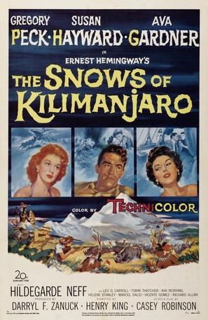 The Snows of Kilimanjaro - Movie Poster (thumbnail)
