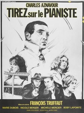 Tirez sur le pianiste - French Movie Poster (thumbnail)