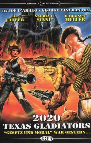 Anno 2020 - I gladiatori del futuro - German DVD movie cover (thumbnail)
